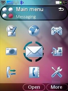 Main menu - Sony Ericsson G900 Review