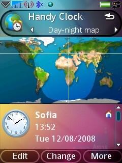 Handy Clock - Sony Ericsson G900 Review
