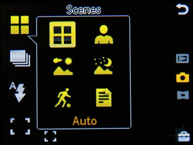 Camera interface - Sony Ericsson G900 Review