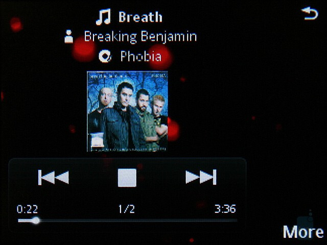 Music player - Sony Ericsson G900 Review