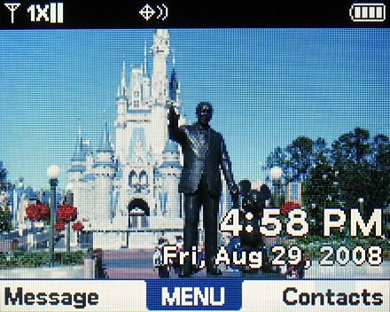 Home screen - Verizon Wireless Blitz Review