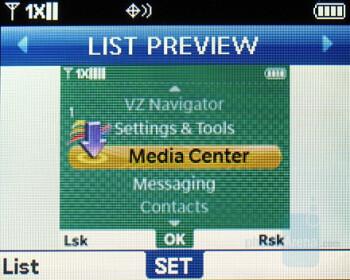 Main Menu Variants - Verizon Wireless Blitz Review
