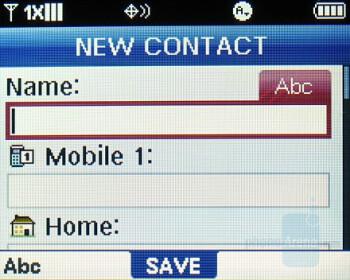 New Contact - Verizon Wireless Blitz Review