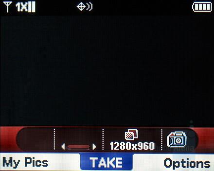 Camera interface - Verizon Wireless Blitz Review