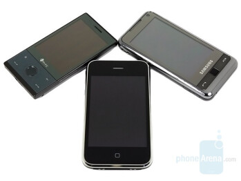 HTC Touch Diamond, Apple iPhone, Samsung OMNIA - Touchscreen phone comparison Q3 - GSM phones