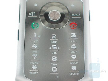 Keypad - Motorola RAZR VE20 Review