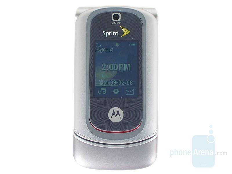 Outer display - Motorola RAZR VE20 Review