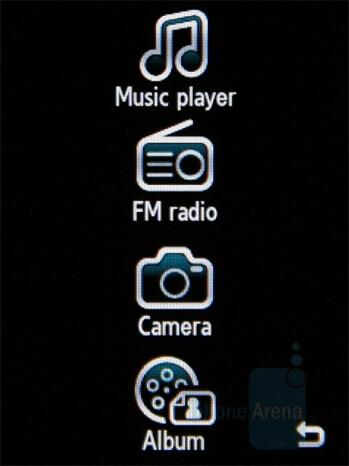 Multimedia menu - Samsung SGH-G400 Review