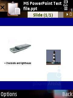 PowerPoint - Samsung SGH-G810 Review