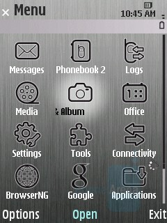 Main Menu - Samsung INNOV8 Preview