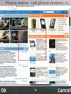 Internet Browser - Samsung INNOV8 Preview