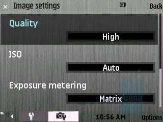 Camera Settings - Samsung INNOV8 Preview