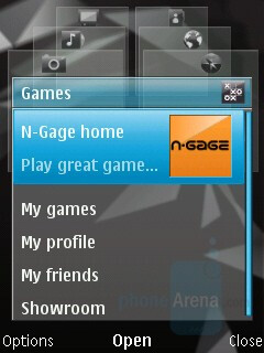 Multimedia Shortcuts Menu - Nokia N96 Review
