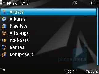 Music Player - Nokia N96 Review