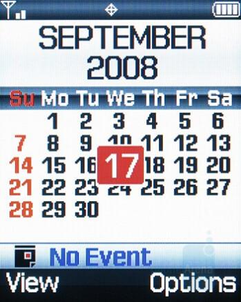 Calendar - Samsung Knack Review