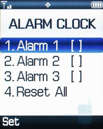 Alarms - Samsung Knack Review