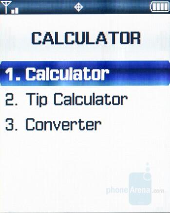 Calculator - Samsung Knack Review