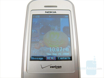 Main Display - Nokia 6205 Review
