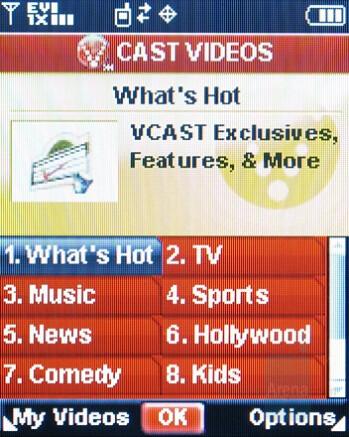 VCast Videos - Nokia 6205 Review