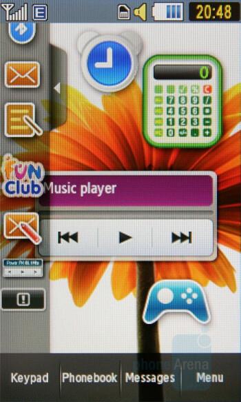 Homescreen - Samsung Pixon Preview