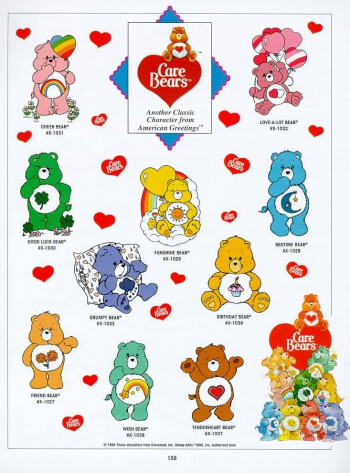 Care Bears - Samsung Pixon Preview