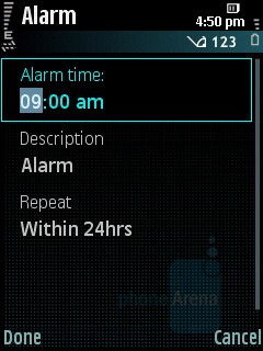 Alarms - Samsung INNOV8 Review