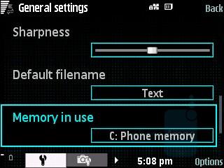 Camera Settings - Samsung INNOV8 Review