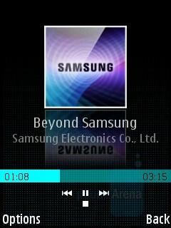 Music Player - Samsung INNOV8 Review