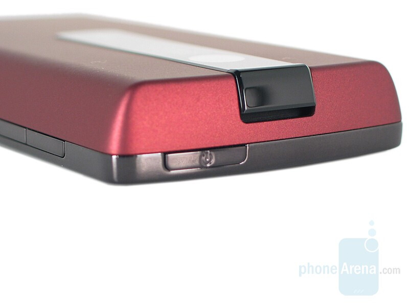 Power Button and Speaker - HTC Touch Diamond CDMA Review