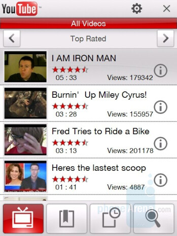YouTube - HTC Touch Diamond CDMA Review