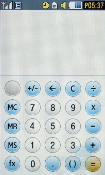 Calculator - Samsung Pixon Review