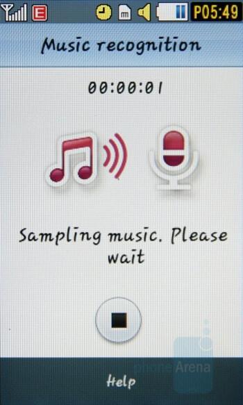 Music recognition - Samsung Pixon Review