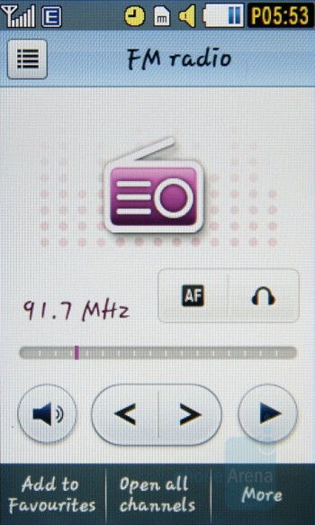 FM Radio - Samsung Pixon Review