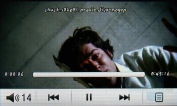 Video playback - Samsung Pixon Review