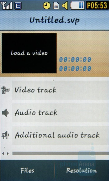 Video editor - Samsung Pixon Review
