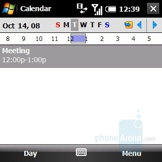 Calendar - Palm Treo Pro Review