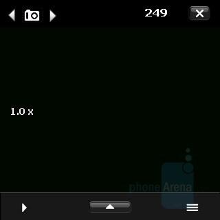 Camera Interface - Palm Treo Pro Review