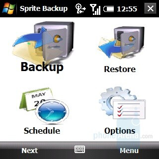 Sprite Backup - Palm Treo Pro Review