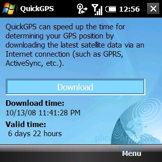 QuickGPS - Palm Treo Pro Review