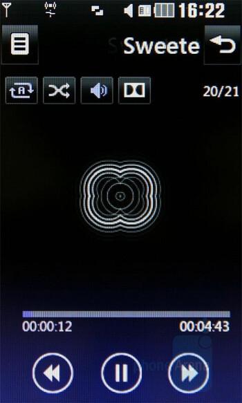 Music Player - LG Renoir Review