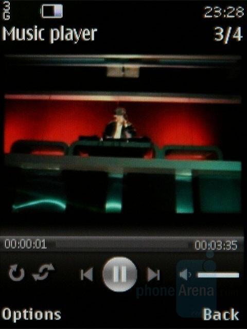 Video playback - Nokia 8800 Carbon Arte Review