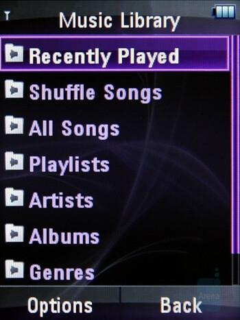 Music Player - Motorola ZINE ZN5 Review