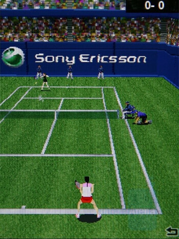 Tennis - Games - Sony Ericsson C905 Review