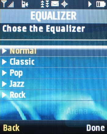 Equalizer - Samsung Highnote Review