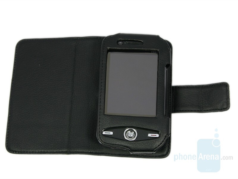 Leather pouch - Eten V900 Review