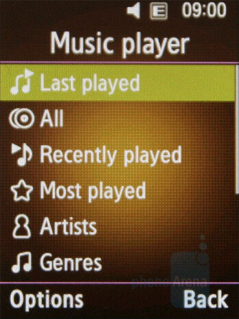 Music Player - Samsung BEATb Preview