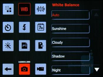 Camera interface - Eten V900 Review