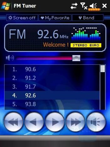 FM Radio - Eten V900 Review
