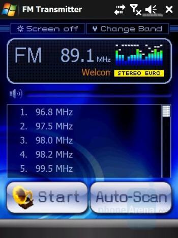 FM transmitter - Eten V900 Review