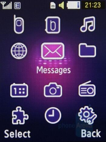 Main menu - Samsung BEATs Preview